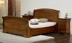 lit bois massif chambre coucher lit en bois massif belbul