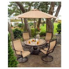 Patio Furniture Set With Umbrella Home Design Trendy Outdoor Patio Dining Sets With Umbrella