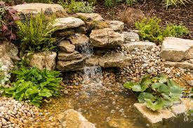 Small Garden Waterfall Ideas A Small Pond With Build In Gravel Bed Filtration And Waterfall In