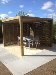 cuisine d été en bois cuisine salon d été collstrop pergola bioclimatique pergola