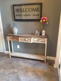 Foyer Entry Tables Rustic Entryway Decor Google Search Home Decor Pinterest