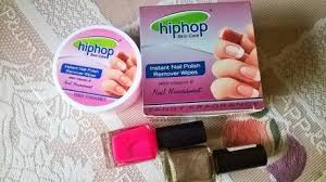 hiphop skin care instant nail polish remover wipes review paperblog