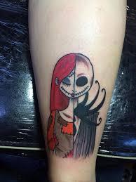 the nightmare before christmas tattoo tattoo ideas pinterest