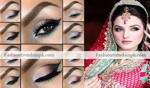 latest bridal smokey eye makeup trends with pics bridal makeup guide step by step lipstick red