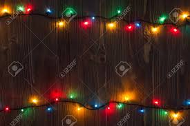 background planked wood with lights and free text