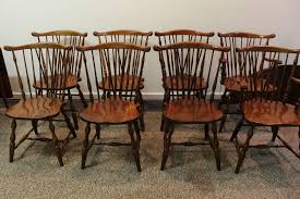 Pennsylvania House Dining Room Set Set Of 8 Pennsylvania House Brace Back Windsor Dining Chairs From
