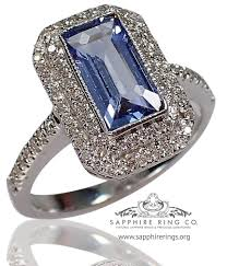 blue gemstones rings images Gia certified 18 kt 1 45 ct blue emerald cut light blue jpg