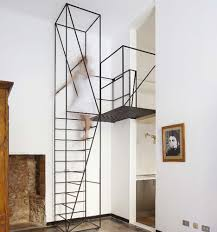 Attic Stairs Design Steps To Saving Space 15 Compact Stair Designs For Lofts Urbanist