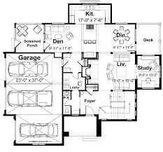 craftsman style house plan 4 beds 2 5 baths 3203 sq ft plan 928