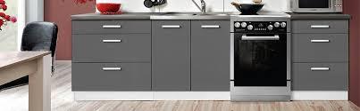 meuble de cuisine pas chere elements cuisine pas cher elment bas 60 cm four gris la