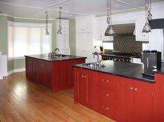 Red Cabinets In Kitchen by What Do You Think Of White Cabinets With Our Slate Appliances