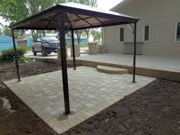 Gazebo On Patio Borderview Landscaping Customer Gallery
