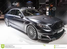 mansory mercedes mansory mercedes s600 at the iaa 2015 editorial stock image