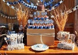 western themed decoration for cowboy favors