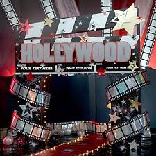 7 best hollywood images on pinterest hollywood theme decorations