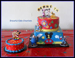 mickey mouse clubhouse birthday cake disney mickey mouse club house 1st birthday cake grace tari flickr