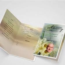 Funeral Programs Samples Funeral Programs Funeral Program Templates Programs For Funeral
