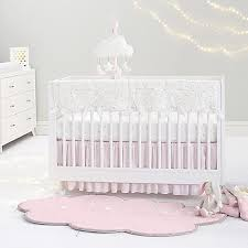 Just Born Crib Bedding Just Born Sparkle Crib Bedding Collection In Ivory Buybuy Baby
