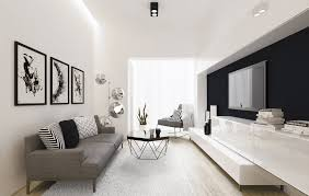 New Modern Black And White by 21 Modern Living Room Design Ideas