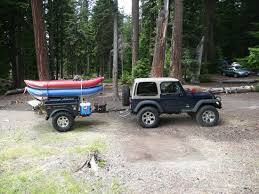 jeep wrangler cargo trailer jeep wrangler road cer trailers and jeep 4x4 cers by