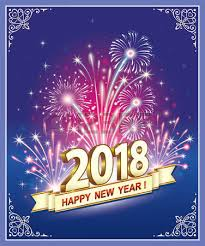 new year s postcards postcard happy new year 2018 royalty free cliparts vectors and