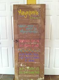 Painted Barn Doors by Parrothead Margaritaville Old Door Picked From Barn In Hackberry