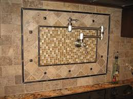 backsplashes kitchen backsplash tile with cherry cabinets cabinet