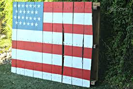 Use Flag How To Paint A Pallet Flag U2013 Hip2save