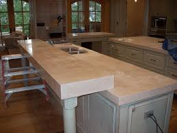 light colored concrete countertops concrete countertops kitchen elongated bowl glass hanging l