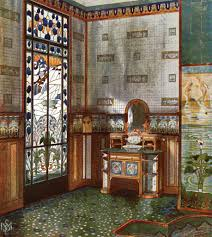 art nouveau bathroom design art nouveau bathroom design by e m
