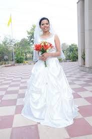 christian wedding gowns grace christian wedding gown bridal makeup venue delhi