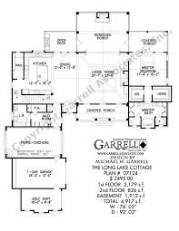 long lake cottage house plan country farmhouse southern long lake cottage house plan 11069 1st floor plan
