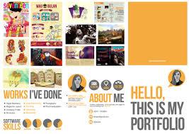 Art Portfolio Design Portfolio Self Promo By Dyla Rosli Via Behance Self Promotion