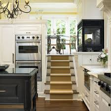 converted split level ideas kitchen traditional with wood flooring