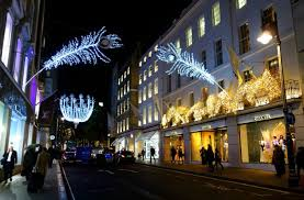 beautiful pictures of the christmas lights in london