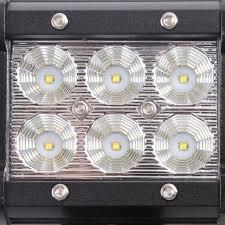 emergency light laws by state senlips c3cr 2x 18w flood cree led light bar