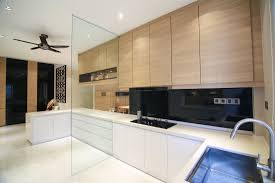 timber kitchen designs the combination of timber finish of the wall cabinets combined