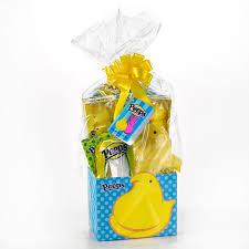 peeps basket peeps yellow large gift basket peeps easter