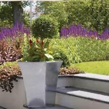 square metal flower u0026 plant planters boxes ebay