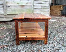 Coffee Tables Rustic Wood Rustic Coffee Table Etsy