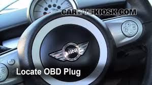 Diagnostic Port Car Engine Light Is On 2008 2015 Mini Cooper What To Do 2009 Mini