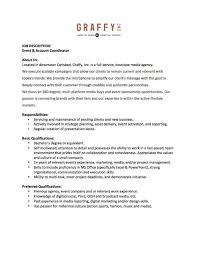 fashion marketing coordinator job description brennan eccles professional profile