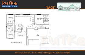 floorplans dutko construction inc