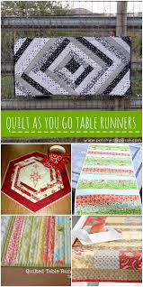 quilt as you go patterns table runners