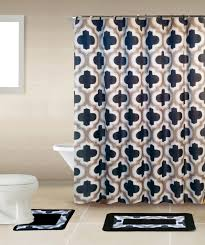 Bathroom Sets Shower Curtain Rugs Home Dynamix Bath Boutique Shower Curtain And Bath Rug Set Bq04