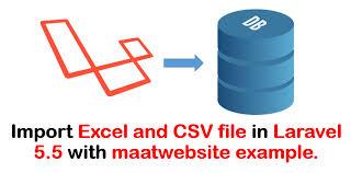 laravel tutorial exle 5 5 import export to excel and csv using maatwebsite exle