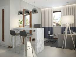 interior designs kitchen functional scandinavian style apartment in white gray blue