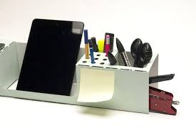 Leather Desk Organizers Modern Desk Organizer Desk Accessories Set Black Leather 2