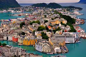 colorful cities 35 photos of ålesund norway most colorful and beautiful town in
