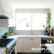 kitchen best backsplash for dark cabinets kitchen backsplash